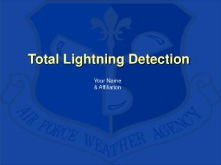Total Lightning Detection