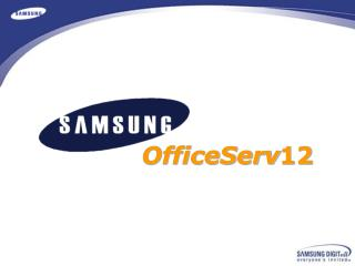 OfficeServ 12