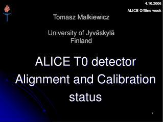 Tomasz Malkiewicz University of Jyväskylä Finland
