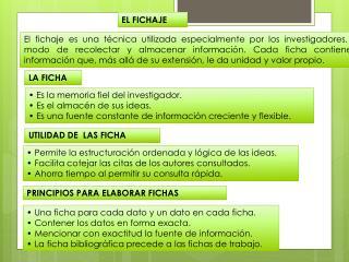 EL FICHAJE