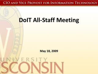 DoIT All-Staff Meeting