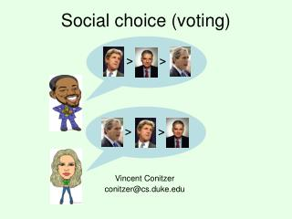 Social choice (voting)
