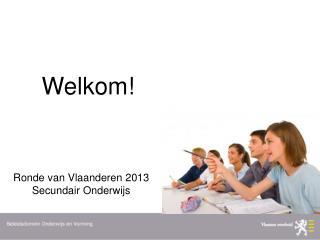 Ronde van Vlaanderen 2013  Secundair Onderwijs