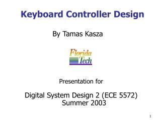 Keyboard Controller Design