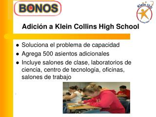 Adición a Klein Collins High School