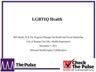 LGBTIQ Health