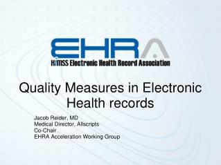Quality Measures in Electronic Health records