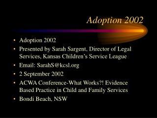 Adoption 2002