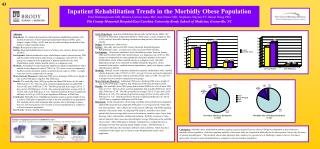 Inpatient Rehabilitation Trends in the Morbidly Obese Population