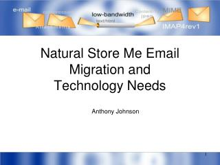 Natural Store Me Email Migration and Technology Needs