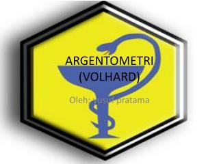 ARGENTOMETRI (VOLHARD)