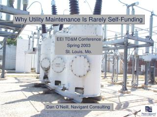 Why Utility Maintenance Is Rarely Self-Funding