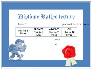 Dipl me Rallye lecture