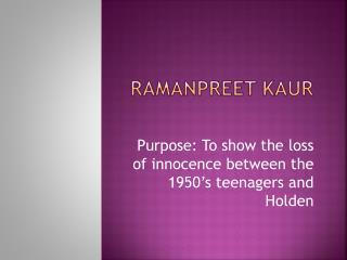 RamanPreet Kaur