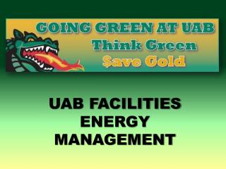 UAB FACILITIES ENERGY MANAGEMENT