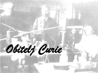 Obitelj Curie