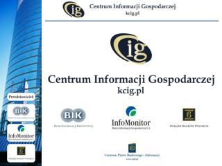 Edukacja na temat roli i znaczenia  informacji gospodarczej we