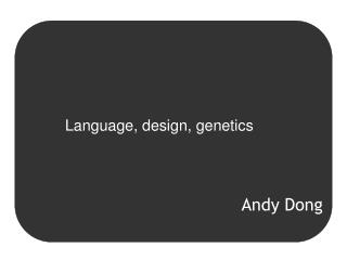 Andy Dong