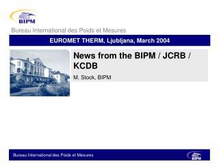 EUROMET THERM, Ljubljana, March 2004