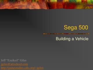 Sega 500