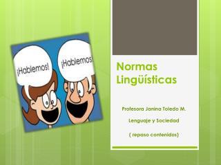 Normas Ling��sticas