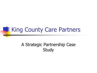King County Care Partners