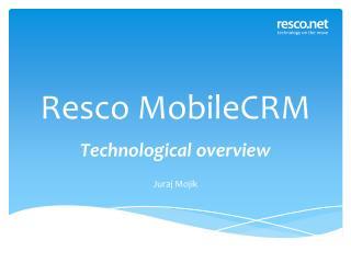 Resco MobileCRM