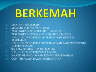 BERKEMAH