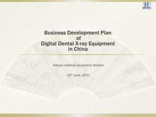 Haluya medical equipment division 15 th  June, 2011