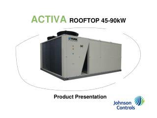 ACTIVA  ROOFTOP 45-90kW