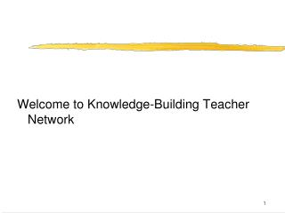 Welcome to Knowledge-Building Teacher Network