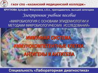 ГАОУ СПО «КАЗАНСКИЙ МЕДИЦИНСКИЙ КОЛЛЕДЖ»