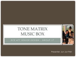 Tone Matrix  music box