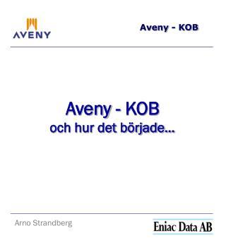 Aveny - KOB