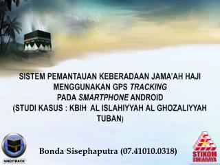Bonda Sisephaputra  (07 .41010.0 318)