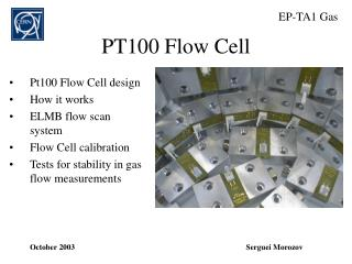 PT100 Flow Cell
