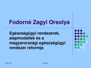 Fodorné Zagyi Orsolya
