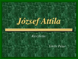 J zsef Attila