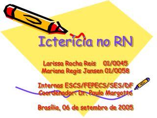 Icter cia no RN  Larissa Rocha Reis    01