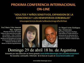 Dr. Miguel  Aristy  Rodríguez Rep. Dominicana  Prof. María Celia Jamniuk Rep. Argentina
