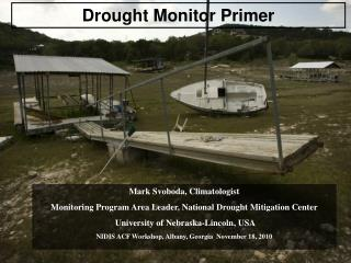 Drought Monitor Primer