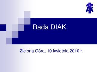 Rada DIAK