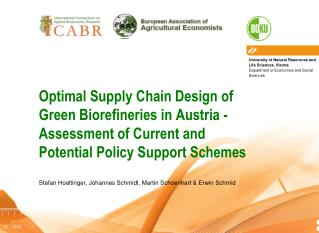 Introduction –  Biorefineries and the bioeconomy