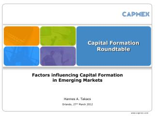 Capital Formation Roundtable