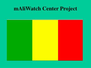 mAliWatch Center Project