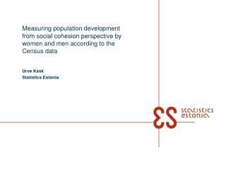Urve Kask Statistics Estonia