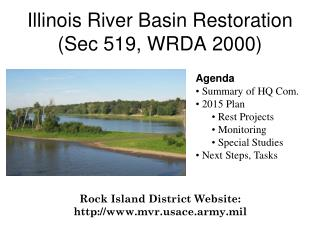 Illinois River Basin Restoration   (Sec 519, WRDA 2000)