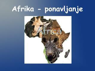 Afrika - ponavljanje