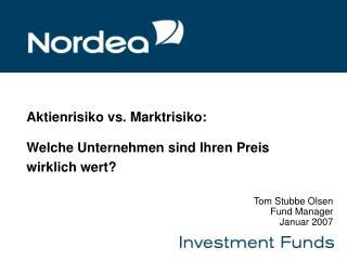 Aktienrisiko vs. Marktrisiko: Welche Unternehmen sind Ihren Preis wirklich wert?
