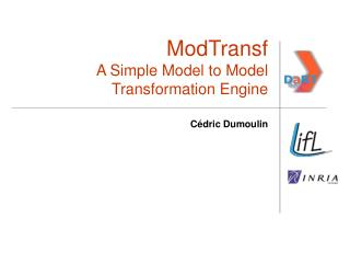 ModTransf A Simple Model to Model Transformation Engine